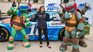 danica-patrick-teenage-mutant-ninja-turtles-car