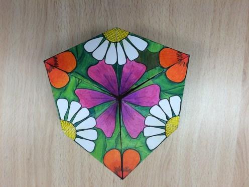 Calidociclo hexagonal por Leire Gonzalo, 4º ESO
