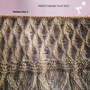 Advent Calendar Scarf 2013 by Kristin Benecken