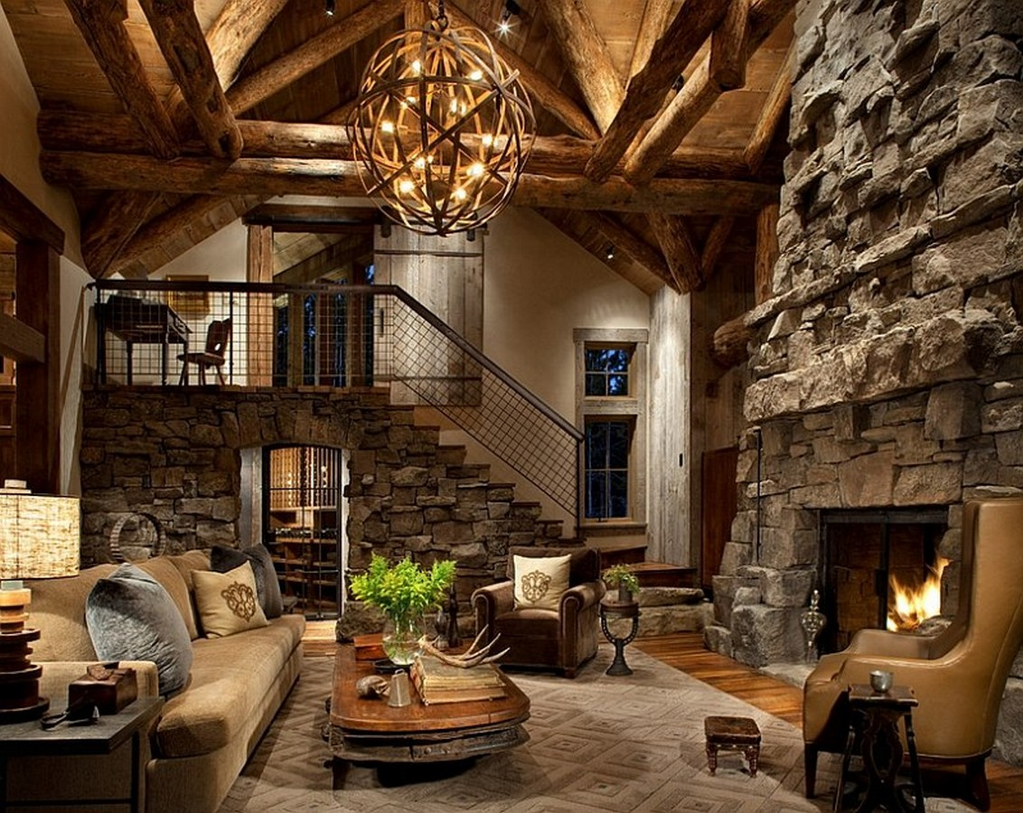 ski antique rustic living room decoration with rough stone clad bathroomwinsome rustic master bedroom designs industrial decor