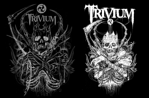 RIDDICKART New Trivium Artwork