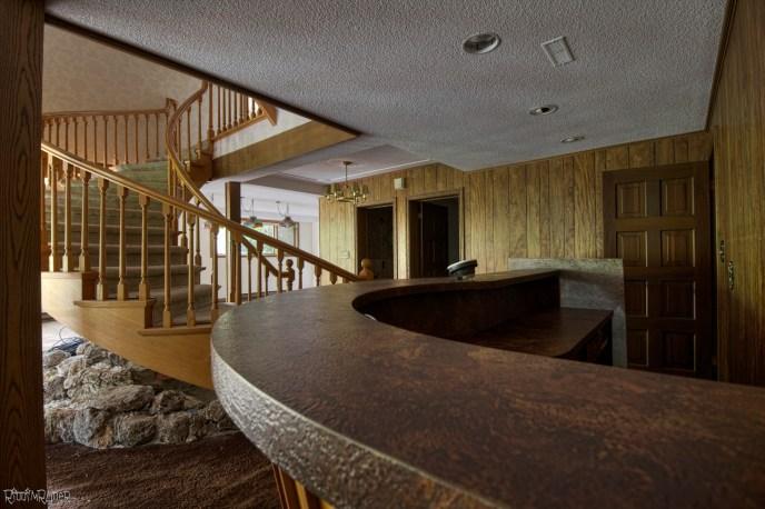 Abandoned $2 Million Dollar Custom Mansion