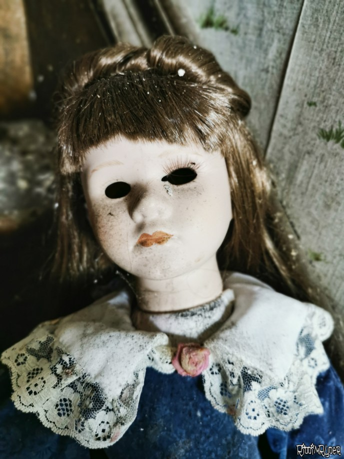 Abandoned Creepy Doll Time Capsule