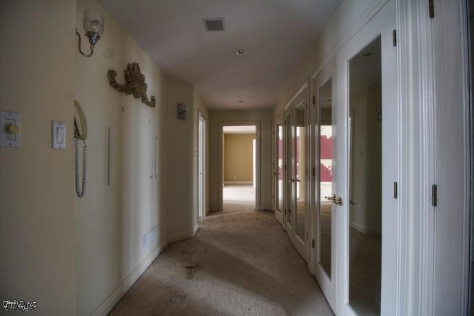 Abandoned Ontario Polish Mansion - Corridor