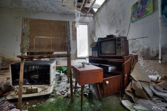 Creepy Abandoned Dome House