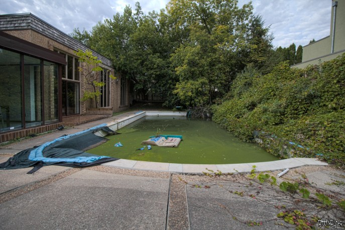 Party Mansion Pool