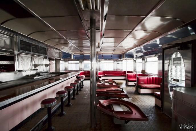 Inside Rosie's Diner