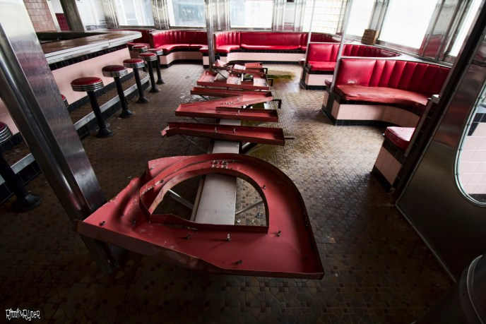 Abandoned Diner Sign
