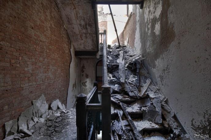 Insane Asylum Stairs