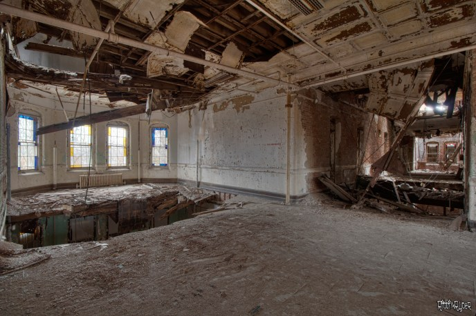 Decaying State Hospital