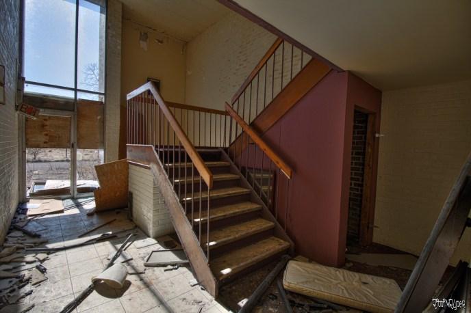 derelict stairs