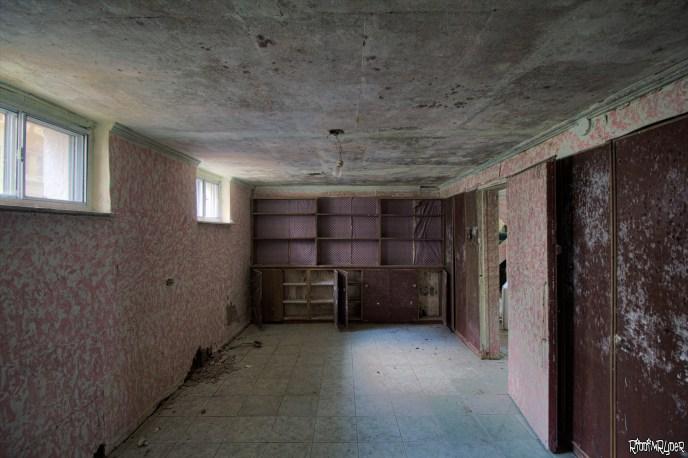 The abandoned castle basement