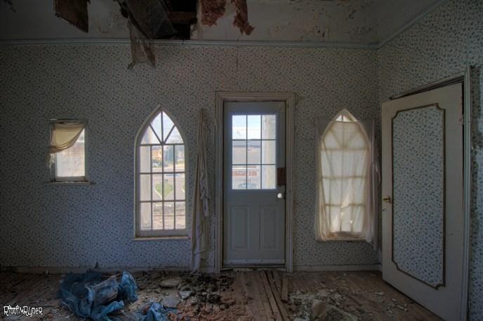 Abandoend Castle Bedroom