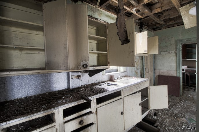 Decayed Decayed kitchen