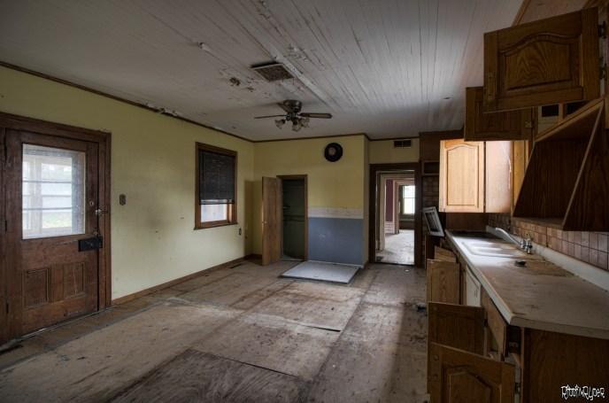 Abandoned Addams Family House