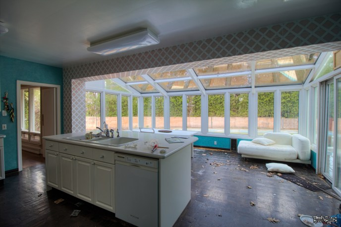 Abandoned Ranch Kitchen