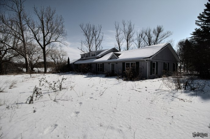 Abandoned Historic Country Home