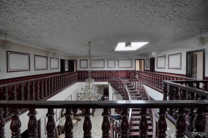 Mansion Upper Level Walk way