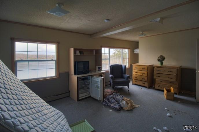 West wing bedrooms