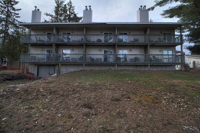 Resort abandoned buildings