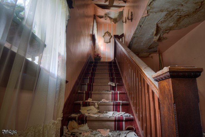 Abandoned House Stairs