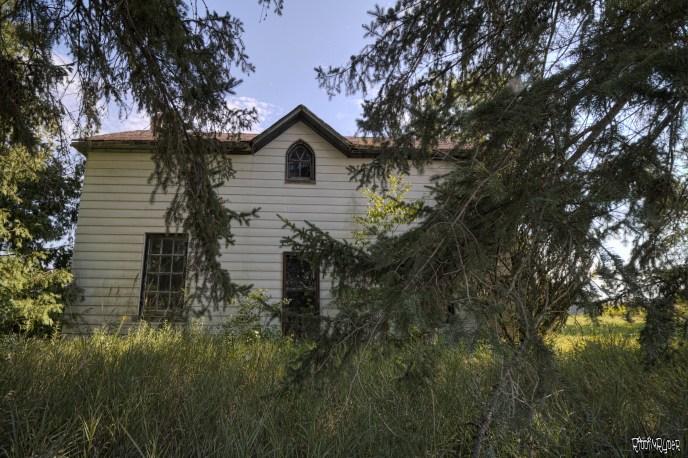 Dangerous Abandoned Farm House