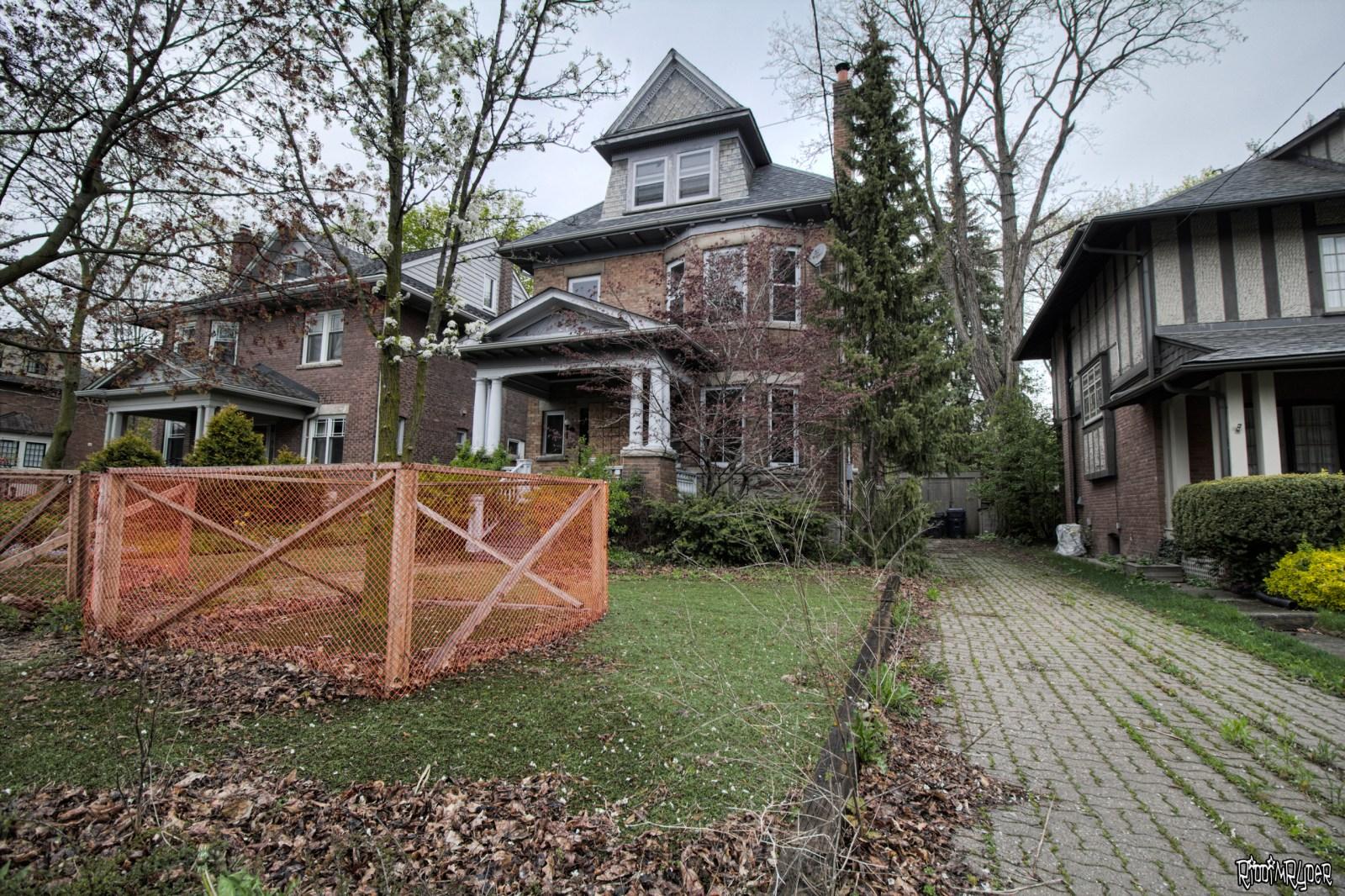 Abandoned Toronto Home