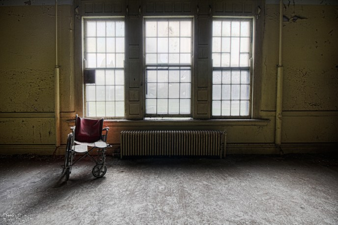Lonely Wheelchair