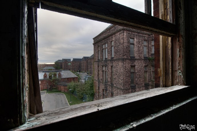 State hospital view