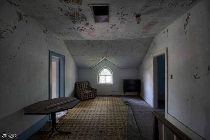 Dangerous Floor in Abandoned House