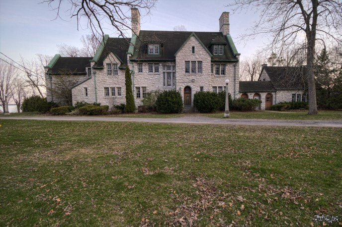 Abandoned Tudor Revival Mansion