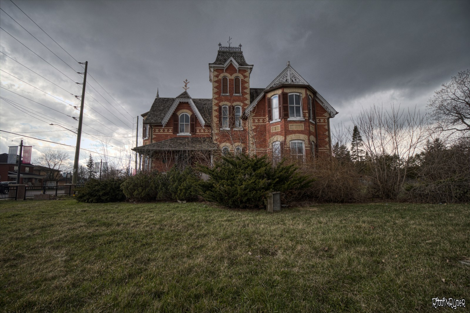 Classic Abandoned Victorian House