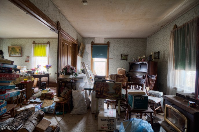 Abandoned Family Room