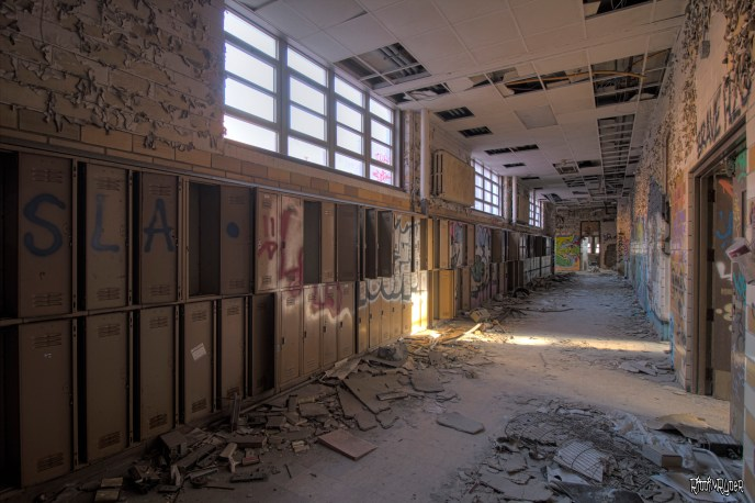 Abandoned Horace Mann School