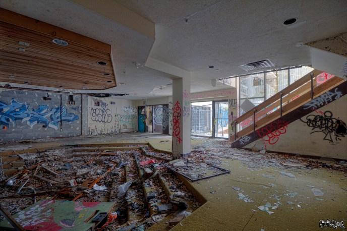 Abandoned Resort Lower Lobby
