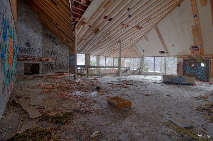 Abandoned Resort Lobby