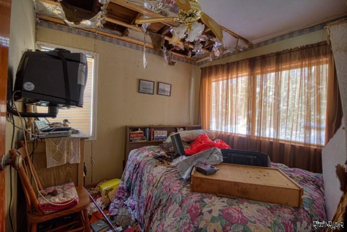 Abandoned cabin Bedroom
