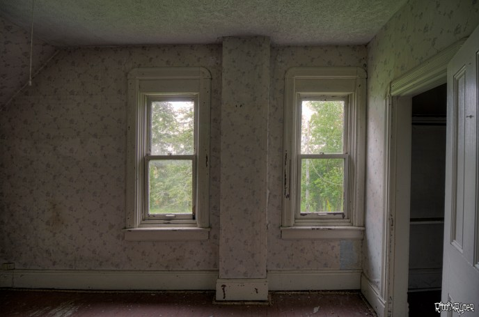 Abandoned Ontario Country Home Bedroom