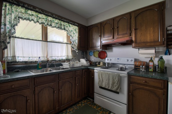 Abandoned Time Capsule Kitchen