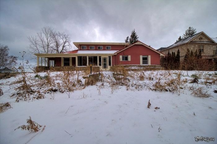 Abandoned Lakefront Mansion