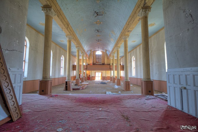 Inside the Abandoned 1800s Church