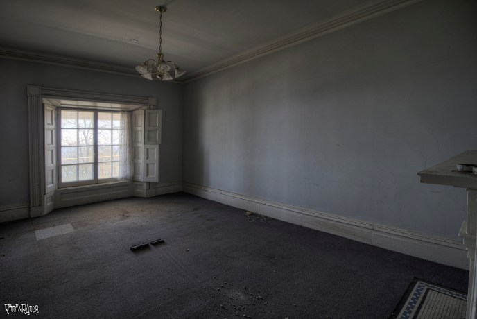 Upstairs in the Abandoned Mansion