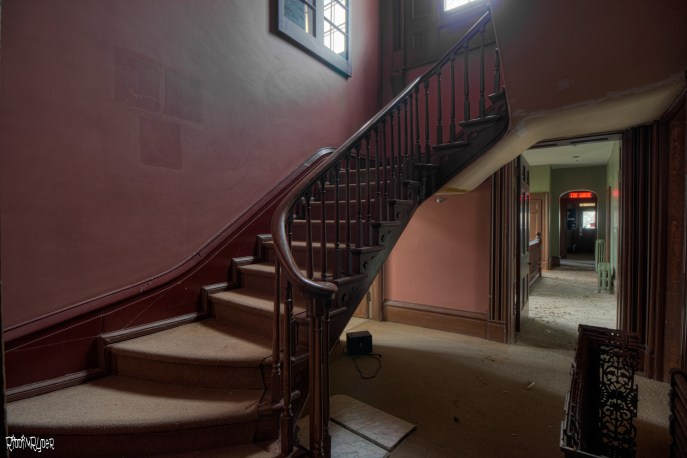 Grand Mansion Staircase