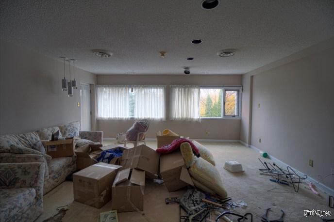 Abandoned Mansion Sitting Room