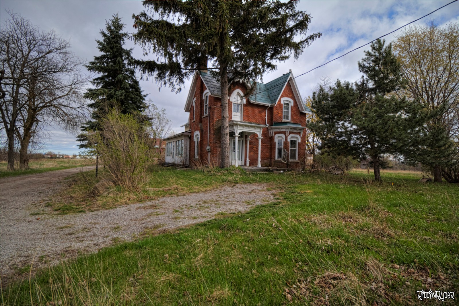 Abandoned Gothic Revival House