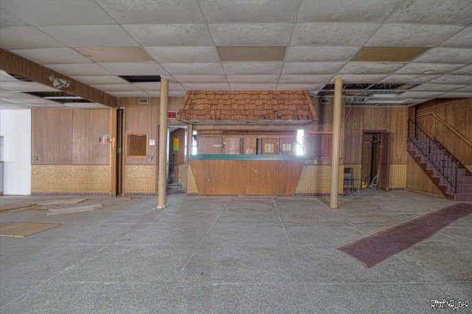 Rec hall in the Abandoned Church