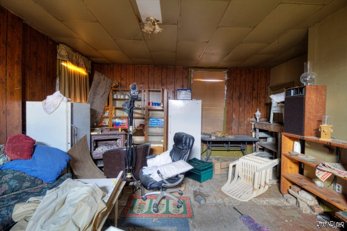 Huge Room in the Abandoned House