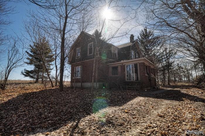Abandoned Gambrel House