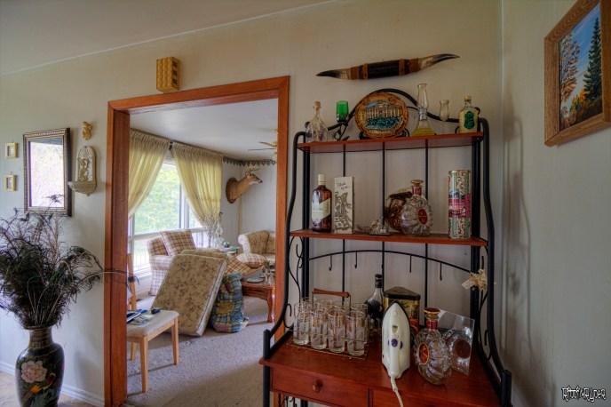 Liquor Cabinet & Front Room