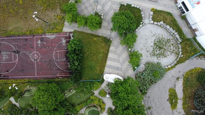 Drone Shot of Playdium
